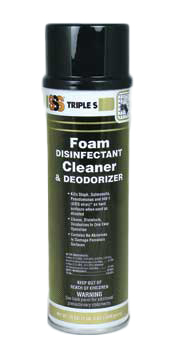Foam Disinfectant Cleaner, 19 oz. 12/Cs