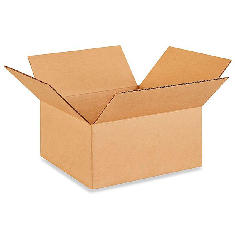 "10"" x 10"" x 5"" Corrugated Box"