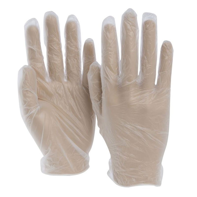 Vinyl Gloves, Powdered, Large. 100/Box