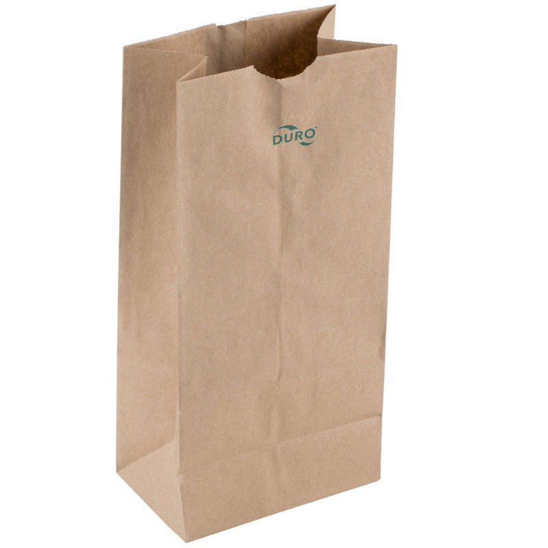 Duro Extra Heavy Duty Grocery Bag. #12 500/Cs