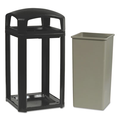 Landmark Series™ Classic Container. 50 Gallon. Sable. 1/Ea