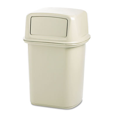 Ranger® Containers, with 2 Doors. 45 Gallon. Beige. 1/Ea