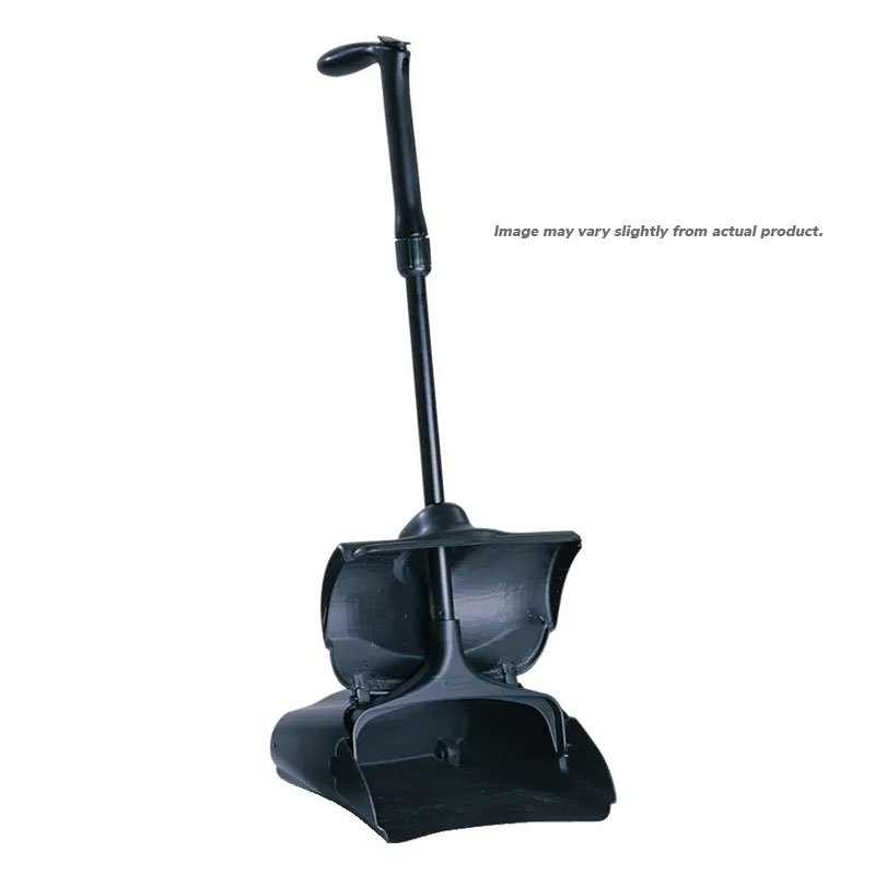 Lobby Pro™ Upright Dust Pan/Dustpan. Self-Opening/Closing Cover. 1/Ea
