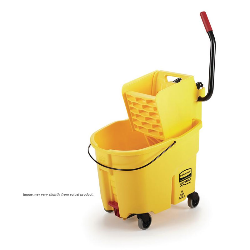 WaveBrake 35 Qt. Down Press Mop Bucket / Wringer Combo. 1/Ea