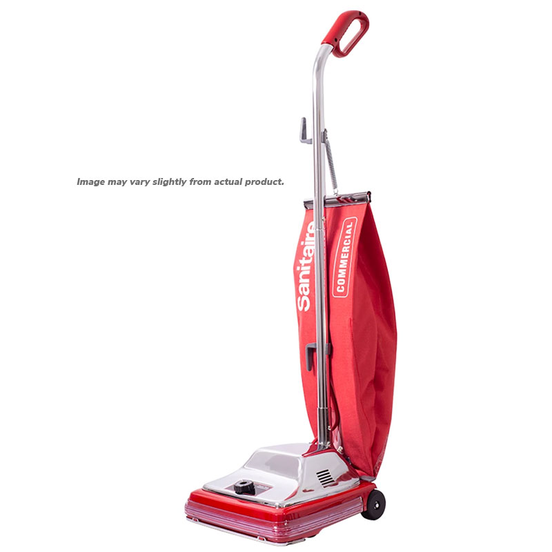 Sanitaire 5 Amp, 18 qt. Shake Out Bag Upright Vacuum, 1/Ea