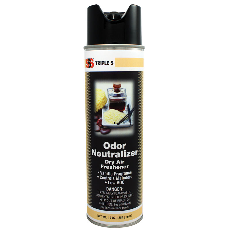 Odor Neutralizer, Vanilla Fragrance, 10 oz. 12/Cs