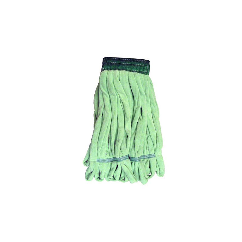 NexGen Green Microfiber String Wet Loop Mop, Medium. 1/Ea