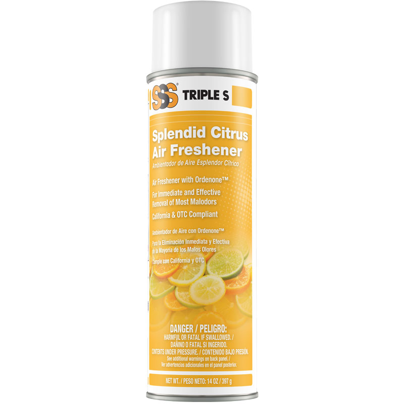 Splendid Citrus Air Freshener. 14 oz. 12/Cs