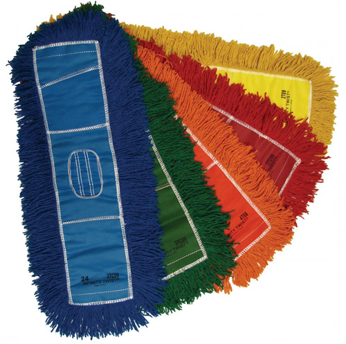 "Endless Twist Dust Mop. 18"" x 5"". 1/Ea"