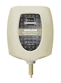 SSS Cleanview Acclaim Heavy Duty Hand Cleaner w/Walnut Shell Scrubbers Refill, 2/4000 mL