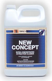 New Concept Ultra-Concentrated Extraction Cleaner. 1 Gallon. 4/Cs