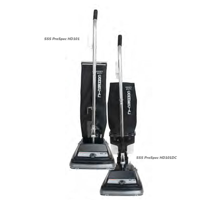 "SSS ProSpec HD101 12"" Upright Vacuum, 1/Cs"