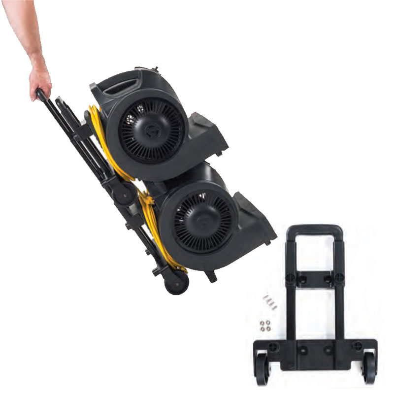 Puma X Trolley Kit with transport wheels & retractable handle, 1/Ea