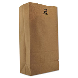 Duro Extra Heavy Duty Grocery Bag. #20 500/Cs