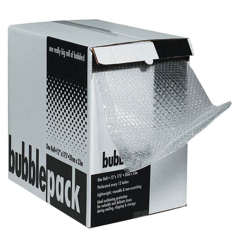 "5/16"" x 12"" x 100' Bubble Dispenser Pack. 1/Ea"