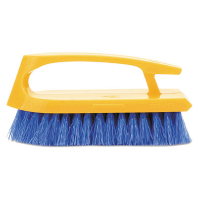 Iron Handle Scrub Brush. 1/Ea