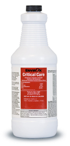 Critical Care Disinfectant RTU, 1/Quart