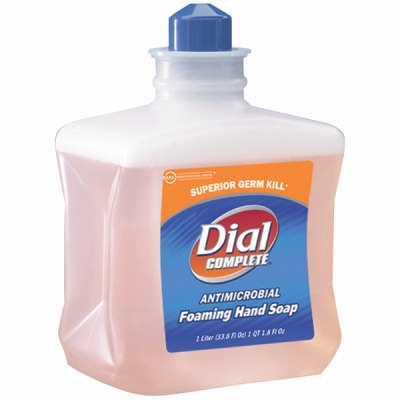 Dial Complete Antimicrobial Foaming Hand Soap. 1 Liter. 6/Cs