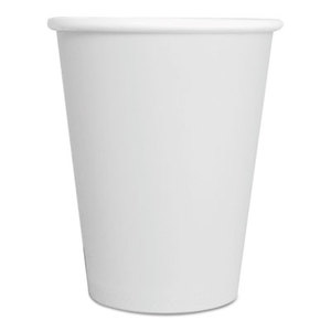 8 oz. White Hot Paper Cup 1000/Cs