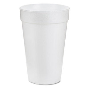 16 oz. Dart Foam Cup. 1000/Cs