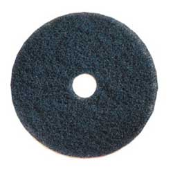 "10"" Blue HD Cleaning Pad. 5/Cs"