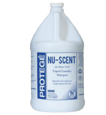 Nu-Scent Premium Liquid Laundry Detergent, 1 Gallon. 4/Cs.