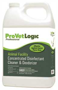 ProVetLogic Animal Facility Concentrated Disinfectant & Deodorizer, 4/1 Gal.