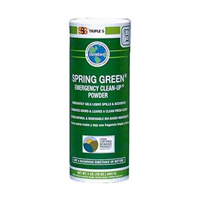 Spring Green Emergency Clean Up Powder, 6/16 oz cans