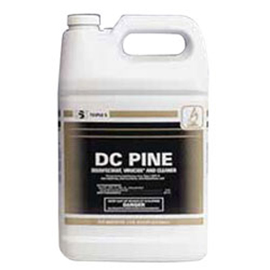 DC Pine Disinfectant Cleaner, 4 Gallons/Cs