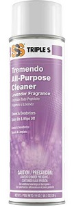 SSS Tremendo All Purpose Cleaner, 19 oz cans, 12/Cs