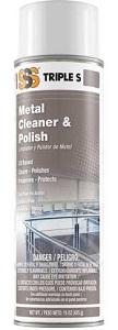 SSS Metal Cleaner & Polish, 15 oz cans, 1/Ea