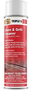 SSS Oven & Grill Cleaner, 20 oz cans, 12/cs