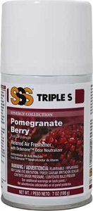 SYNERGY Metered Air System Refills, 7 oz. Pomegranate Berry. 12/Cs
