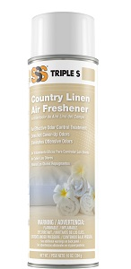 Country Linen Air Freshener. 10 oz. 12/Cs