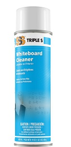 SSS Whiteboard Cleaner, 19 oz cans, 12/cs