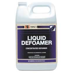 Liquid Defoamer Concentrated Defoamer. 1 gal.