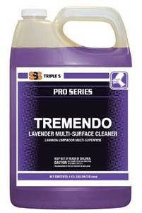 SSS Tremendo Lavender Multi-Surface Cleaner, 4 Gallons/Cs