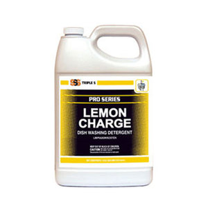 SSS Lemon Charge Dish Washing Detergent. 1 Gal. 1/Ea.