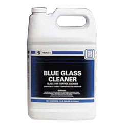 SSS Blue Glass Cleaner, 1 Gallon, 4 Gal/Case