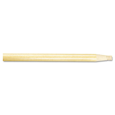 "Threaded Wood Broom Handle. 60"" x 15/16""D. 1/Ea"