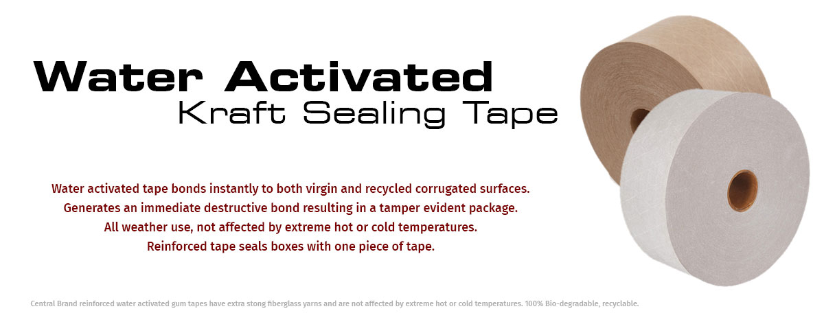 Water Activated Kraf Tapes