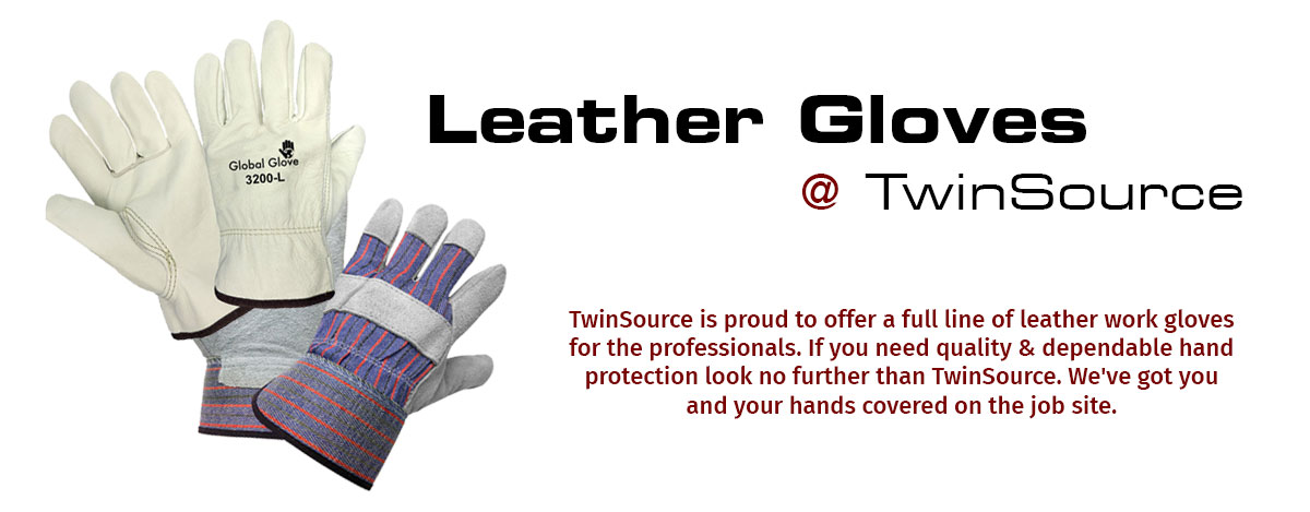 Quality Leather Work Gloves
