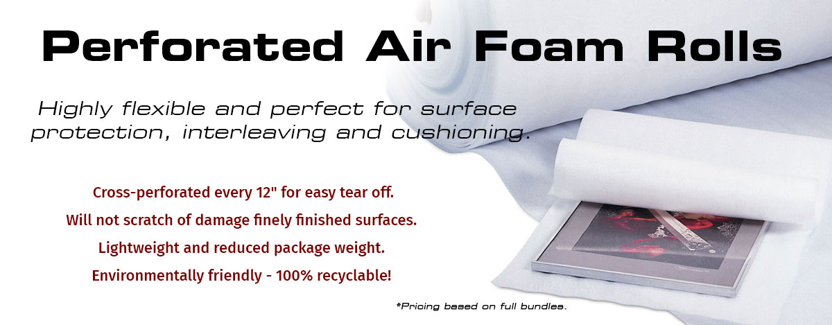 Perforated Air Foam Rolls