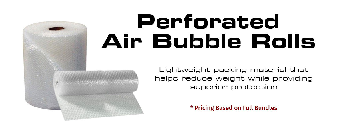 Perforated Bubble Rolls
