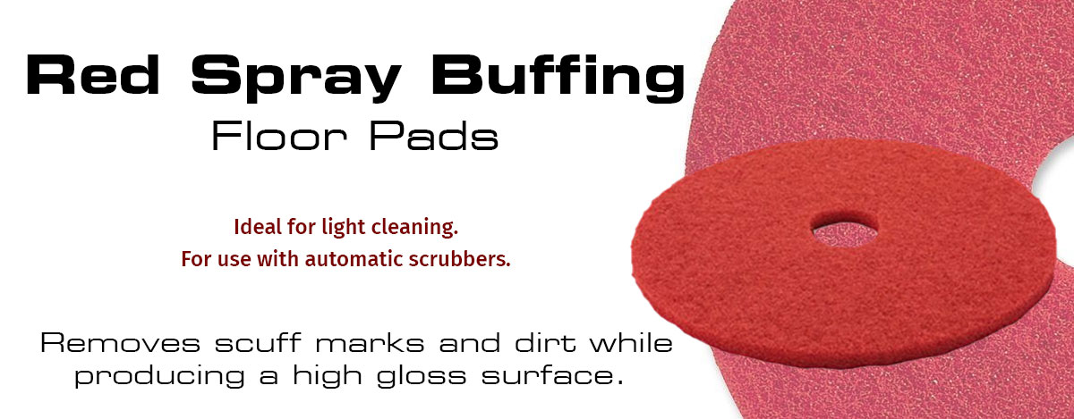 Red Spray Buffering Pads