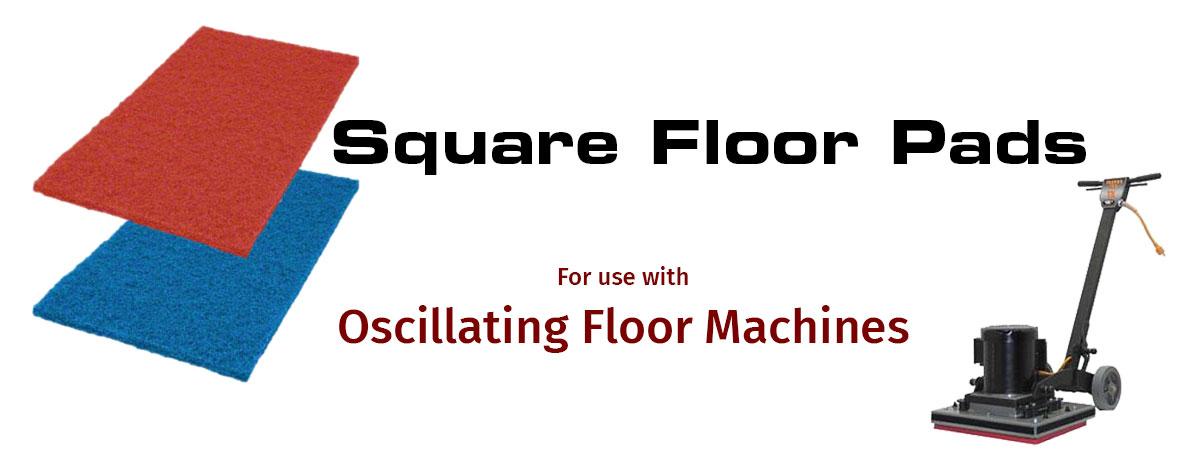 Square Floor Pads