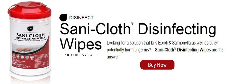 Sani Disinfecting Wipes by TwinSource