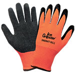 Ice Gripster® water repellent gloves, Medium, 1 Pair