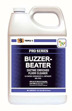 Buzzer-Beater Enzyme Floor Cleaner & Deodorizer.  1 Gallon. 1/Ea
