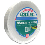 "9"" Uncoated Paper Plate 1200/Cs"